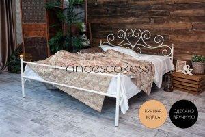Кровать металлическая Кармен 1 - Мебельная фабрика «Francesco Rossi»