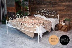 Кровать металлическая Кармен 2 - Мебельная фабрика «Francesco Rossi»