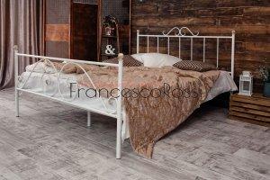 Кровать металлическая Оливия 2 - Мебельная фабрика «Francesco Rossi»