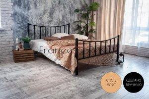 Кровать металлическая Ринальди - Мебельная фабрика «Francesco Rossi»