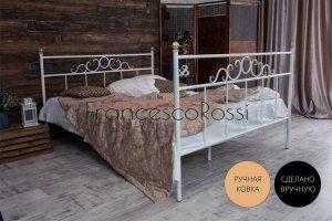 Кровать металлическая Сандра 2 - Мебельная фабрика «Francesco Rossi»