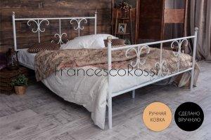 Кровать металлическая Симона 2 - Мебельная фабрика «Francesco Rossi»