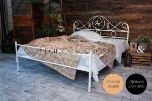 Кровать металлическая Венеция 1 - Мебельная фабрика «Francesco Rossi»