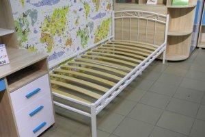 Кровать металлическая Юнга-3 - Мебельная фабрика «Гайвамебель»
