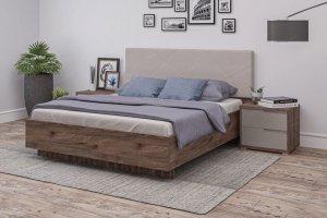 Кровать с мягким изголовьем Модерн - Мебельная фабрика «Мелодия сна»