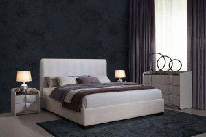 Кровать Мона двуспальная - Мебельная фабрика «Dream land»