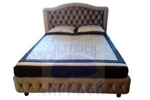 Кровать Морфей Волна Супер Люкс П++ ромб с подъемным механизмом - Мебельная фабрика «Морфей»