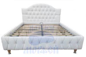 Кровать Морфей Волна Супер С ромб с подъемным механизмом - Мебельная фабрика «Морфей»
