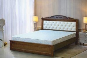 Кровать Москва с мягким изголовьем - Мебельная фабрика «Buena»