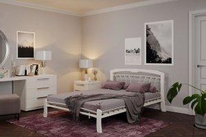 Кровать Муза 4 Лайт белая - Мебельная фабрика «ГЗМИ ФОРВАРД-МЕБЕЛЬ»