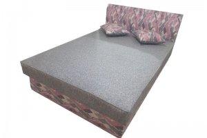 Кровать Мягкая 1-1 - Мебельная фабрика «Лама»