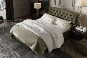 Кровать мягкая Dakota - Мебельная фабрика «Rila»
