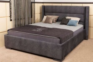 Кровать мягкая Dania 1 - Мебельная фабрика «Гармония»