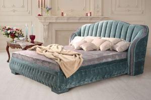 Кровать мягкая дизайнерская Asti - Мебельная фабрика «Гармония»