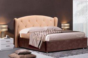 Кровать мягкая Элизабет - Мебельная фабрика «Divanger»