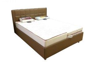 Кровать мягкая Лугано - Мебельная фабрика «BURJUA»