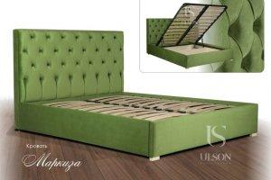 Кровать мягкая Маркиза - Мебельная фабрика «Улсон»