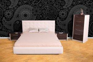 Кровать мягкая Милан - Мебельная фабрика «СКБ»