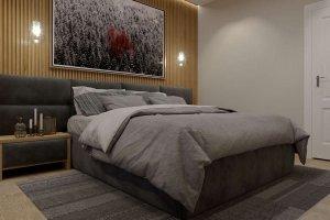 Кровать мягкая Сицилия - Мебельная фабрика «Эльба-Мебель»