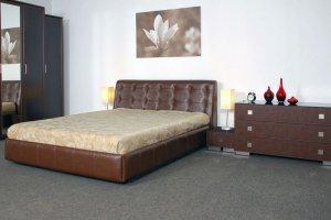 Кровать мягкая Софтлайн Квадрат - Мебельная фабрика «СКБ»