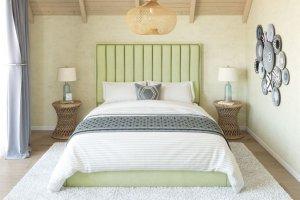 Кровать мягкая спальная Флоу - Мебельная фабрика «Sensor Sleep»
