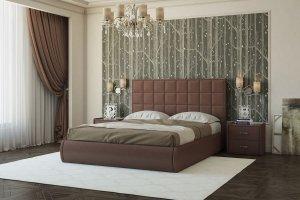 Кровать мягкая уютная Квадро - Мебельная фабрика «Sensor Sleep»