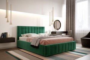 Кровать мягкая Вена - Мебельная фабрика «Мебельград»