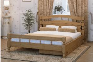 Кровать Наташа - Мебельная фабрика «Diles»