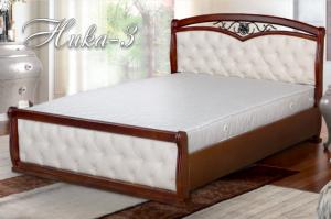 Кровать Ника-3 - Мебельная фабрика «Селена»