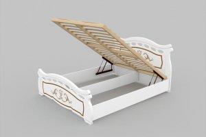 Кровать Нимфа с подъемным механизмом - Мебельная фабрика «DM - DarinaMebel»