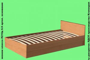 Кровать односпальная - Мебельная фабрика «КрайМебель-Краснодар»