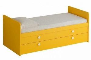 Кровать односпальная детская Bonito - Мебельная фабрика «ОГОГО Обстановочка!»