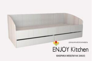 Кровать односпальная KR7 - Мебельная фабрика «ENJOY Kitchen»
