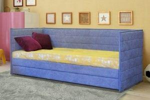 Кровать детская одноярусная 1 - Мебельная фабрика «Элфис»
