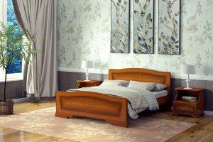 Кровать Орхидея - Мебельная фабрика «DM- darinamebel»