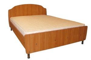 Кровать ортопедическая ЛДСП - Мебельная фабрика «Каравелла»