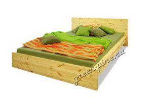 Кровать Плато из массива сосны,  - Мебельная фабрика «Зеленая Сосна»