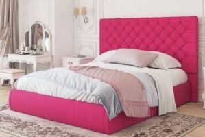 Кровать подъемная розовая Винтаж - Мебельная фабрика «Sensor Sleep»