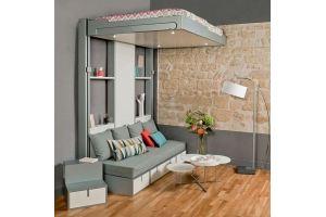Кровать подъемная SkyBed 1600 - Мебельная фабрика «СМ Вектор»