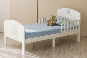 Кровать подростковая Юнга Белая КПЮ-3/160 - Мебельная фабрика «Феалта»