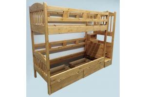 Кровать подростковая Юниор двухъярусная - Мебельная фабрика «Массив»