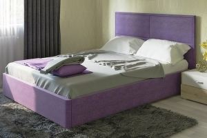 Кровать спальная двойная Прага - Мебельная фабрика «Нижегородмебель и К (НиК)»