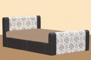 Кровать пружинная с двумя спинками - Мебельная фабрика «Алина»