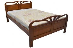 Кровать резная Таисия - Мебельная фабрика «Святогор Мебель»