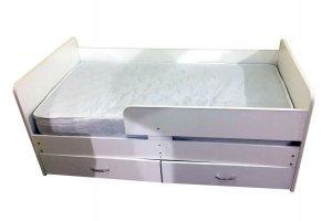 Кровать с бортиком Лютик - Мебельная фабрика «Мезонин мебель»