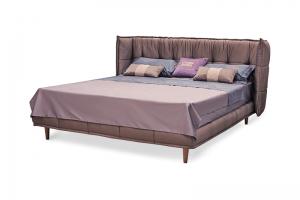 Кровать с изогнутым изголовьем Грей - Мебельная фабрика «Коста Белла»