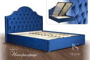 Кровать с каретной стяжкой Императрица - Мебельная фабрика «Улсон»