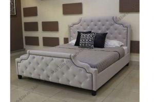 Кровать с каретной стяжкой Марелла - Импортёр мебели «MEB-ELITE (Китай)»