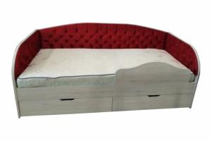 Кровать с каретной стяжкой Монро - Мебельная фабрика «Дэрия»