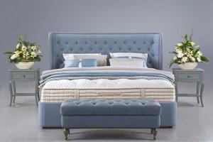 Кровать с каретной стяжкой Орлеан - Мебельная фабрика «Dream Catchers»